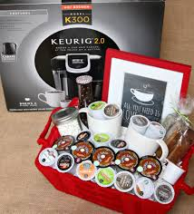 k cup gift basket give the gift of coffee