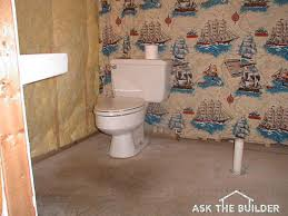 Bathroom Construction Steps Bathroom Remodeling Sequence Ask The Builderask The Builder