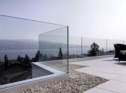 barandilla de cristal barandilla de cristal orizzonte aluminio felix moreno garcia