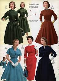 haircutsbfor women in their late 50 s 1950s dresses skirts styles trends pictures