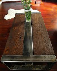 Wood And Metal Coffee Table Best 25 Coffee Table Centerpieces Ideas On Pinterest Modern