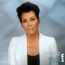 kris jenner hair 2015 kris jenner rants against caitlyn on keeping up with the