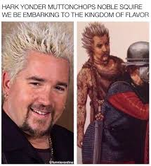 Guy Fieri Meme - the fieri prophecy memebase funny memes