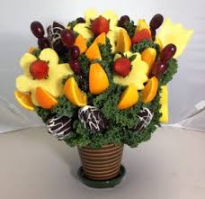 send fruit bouquet no melon fruit bouquet give us 24 hr notice in