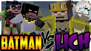 minecraft superhero batman rescues elsa frozen batman