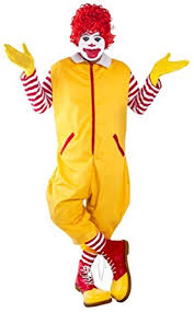 clown costumes yellow clown costume size standard clothing