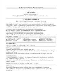 Supply Chain Coordinator Resume Sample Project Coordinator Resume Examples Hr Coordinator Resume Resume