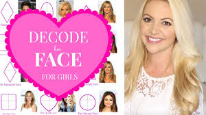 find right hairstyle for face shape of yours decode your face for girls which of these 6 face shapes are you