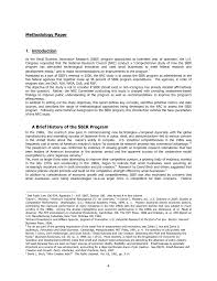 how to write a thesis paper introduction 1 introduction an assessment of the small business innovation page 4