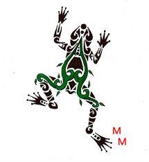 green tree frog by mikaylamettler deviantart com on deviantart