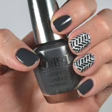 dark gray nail designs how you can do it at home pictures