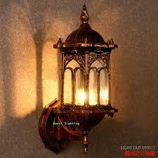 Vintage Wall Sconce Lighting Vintage Outdoor Wall Lights Home Design