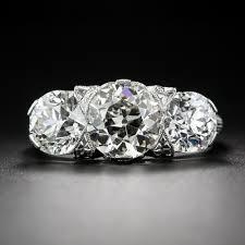 stone vintage rings images 4 65 carat total edwardian three stone diamond ring jpg