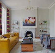 decorations plush eclectic living room with colorful interior decorations plush eclectic living room with colorful interior with yellow mid century modern couch and