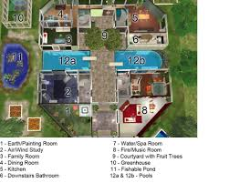 mansion house plans for sims 3