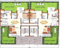 free house plans row house plans home design interior outstanding houses plan