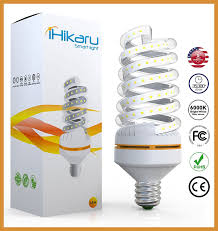 250 watt equivalent led light bulbs ihikaru led light bulb new spiral corn 90 energy saving 30 watt