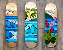 Skateboard Decor The Surf Art Of Heather Brown 2016