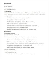 entry level business resume best business resume 30 free word pdf document download free