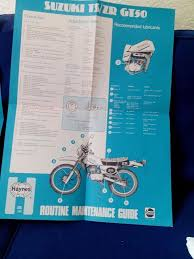haynes manual for suzuki ts 50 in carrickfergus county antrim