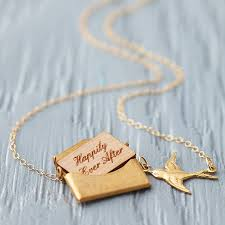 necklace love images Personalised mini love letter necklace in gold by maria allen jpg