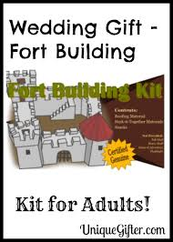 wedding gift kits wedding gift fort building kit for adults unique gifter