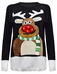 christmas tree jumper with lights red olives womens ladies xmas special 3d christmas tree jumper with