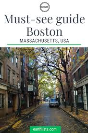 Massachusetts Travel Information images Must see guide to boston ma earth lists