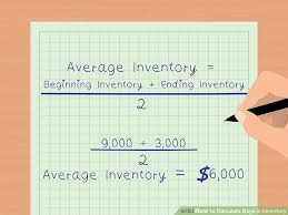 of inventory how to calculate days in inventory 10 steps with pictures