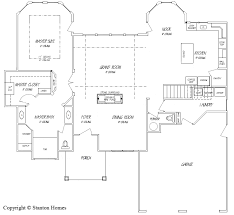 custom floor plans for new homes floor master homes nc custom homes stanton homes