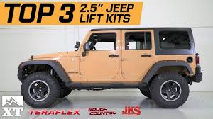 lift kit for 2007 jeep wrangler unlimited the 3 best jeep wrangler 2 5 lift kits for 2007 2017 jk unlimited