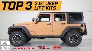 my jeep wrangler jk the 3 best jeep wrangler 2 5 lift kits for 2007 2017 jk unlimited