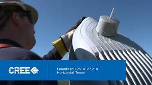 ge evolve led roadway lighting see how to install cree s xsp series led street light youtube