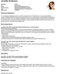 Video Resume Sample Write Your Cover Letter Travellers Contact Point