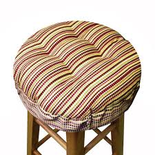 atwood plaid bar stool cover cushioned indoor outdoor