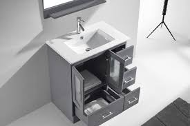 Vanity Set Bathroom Duke 30 Single Bathroom Vanity Set With Mirror Reviews Allmodern