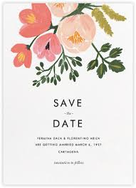 online save the dates pastel petals save the date paperless post rifle paper