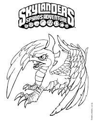 spyro coloring pages funycoloring