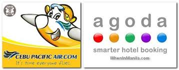 agoda icon traveling to from the philippines made easy by cebu pacific air and