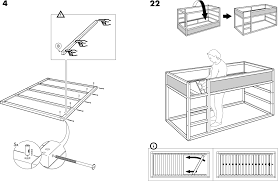 Bedroom Ikea Hack Bunk Bed Crib Bunk Bed Combo Ikea Kura Bed - Ikea bunk bed assembly instructions