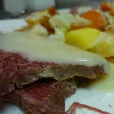 horseradish sauce for beef slow cooked corned beef with horseradish sauce