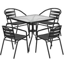 Black Metal Chairs Outdoor Metal Patio Furniture Shop The Best Outdoor Seating U0026 Dining