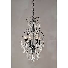 Small Black Chandelier Beautiful Mini Crystal Chandelier 19 For Your Small Home