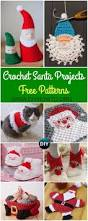 crochet home decor free patterns crochet santa clause ideas and projects free patterns santa face