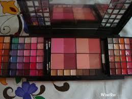 mikyajy tempting treats reviews makeup kit east indian makeup kit bridal makeup kit