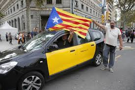 Barcelona Spain Flag The Latest Tens Of Thousands Marching In Barcelona Am 880 The