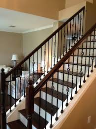 Replacing Banister Spindles Wrought Iron Stair Rail U2013 Brandonemrich Com