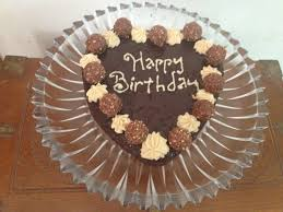 chocolate ferrero rocher cake saute fry n bake