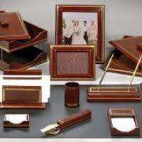 desk leather set hungrylikekevin com