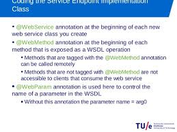 tutorial web service java using java to implement soap web services jax ws